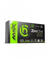 AMIX ChelaZone® ZincChel® Zinc Bisglycinate Chelate / 90 Vcaps