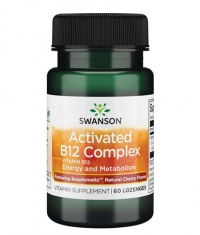 SWANSON Activated B12 Complex - Natural Cherry Flavor / 60 Lozenges