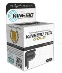 KINESIO TEX GOLD Therapeutic Tape 5cm x 5m / Black
