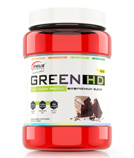 GENIUS NUTRITION VEGAN GREEN-HD