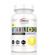 GENIUS NUTRITION VITAMIN D3 / 90 Caps