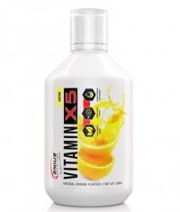 GENIUS NUTRITION VITAMIN-X5 Liquid / 500 ml