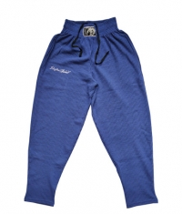 STEFAN BOTEV Sweatpants / Blue