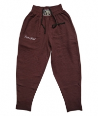 STEFAN BOTEV Sweatpants / Bordo