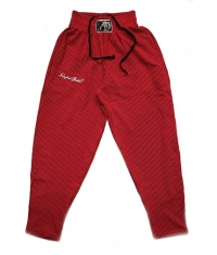 STEFAN BOTEV Sweatpants / Red