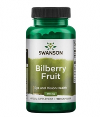 SWANSON Bilberry Fruit 470 mg / 100 Caps