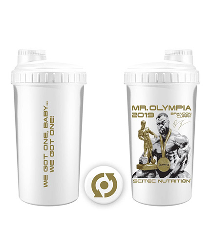 SCITEC Mr.Olympia 2019 Brandon Curry 700ml Shaker