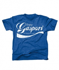 GASPARI T-Shirt Enjoy Gaspari / Blue