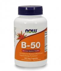 NOW Vitamin B-50 / 100 Vcaps