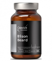 OSTROVIT PHARMA Bison Beard / Men's Beard Care / 60 Caps
