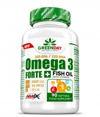 AMIX Omega3 FORTE 330/220 + D3,K2,Vit.E  90 softgels