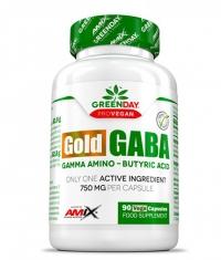 AMIX ProVegan Gold Gaba / 90 Caps