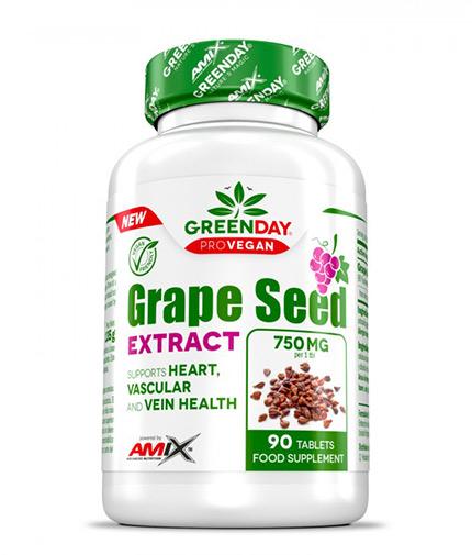 AMIX ProVegan Grape Seed Extract / 90 Tabs
