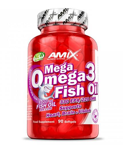 AMIX Mega Omega Fish Oil / 90 Softgels
