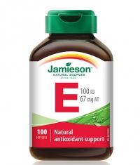JAMIESON Vitamin E 100 IU / 100 Softgels