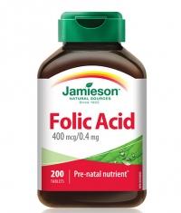 JAMIESON Folic Acid 400 mcg / 200 Tabs