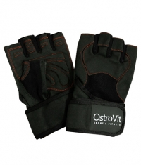 OSTROVIT PHARMA Men's Training Gloves with Wristwraps