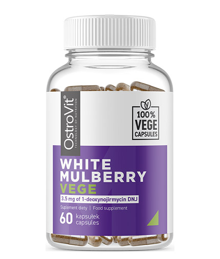 OSTROVIT PHARMA White Mulberry / Vege / 60 Caps