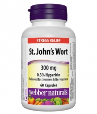 WEBBER NATURALS St. John's Wort 300 mg / 60 Caps