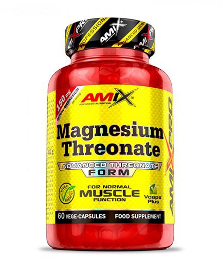 AMIX Magnesium Threonate / 60 Caps