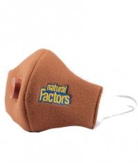 NATURAL FACTORS Face Mask / Brown
