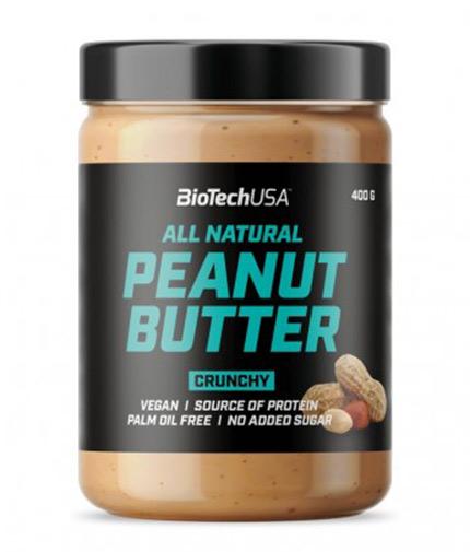 BIOTECH USA Peanut Butter Crunchy