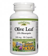 NATURAL FACTORS Olive Leaf 500 mg / 90 Caps