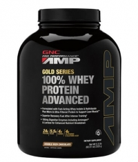 GNC Pro Performance Amp Amplified Gold 100% Whey Protein Advanced