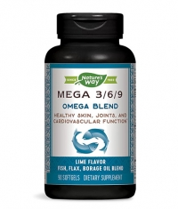 NATURES WAY Mega 3/6/9 Omega Blend / 90 Softgels