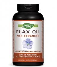 NATURES WAY Flaxseed Oil 1300 mg 57% / 200 Caps