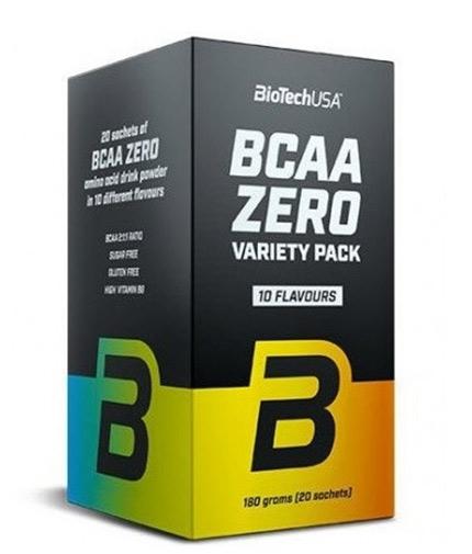 BIOTECH USA BCAA Zero Variety Pack / 20 Sachets