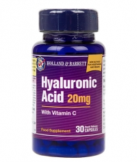 HOLLAND AND BARRETT Hyaluronic Acid 20 mg / with Vitamin C / 30 Caps