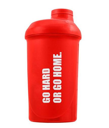 OLIMP Shaker Go Hard or Go Home / 500ml / Red