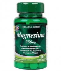 HOLLAND AND BARRETT Magnesium Oxide 250 mg / 100 Tabs