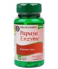 HOLLAND AND BARRETT Papaya Enzyme / 100 Chews
