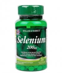 HOLLAND AND BARRETT Selenium 200 mcg / 250 Tabs