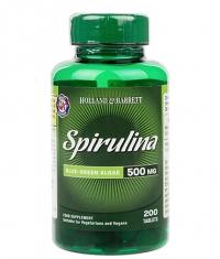 HOLLAND AND BARRETT Spirulina 500 mg / 200 Tabs