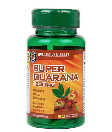 HOLLAND AND BARRETT Super Guarana 1200 mg / 90 Caps