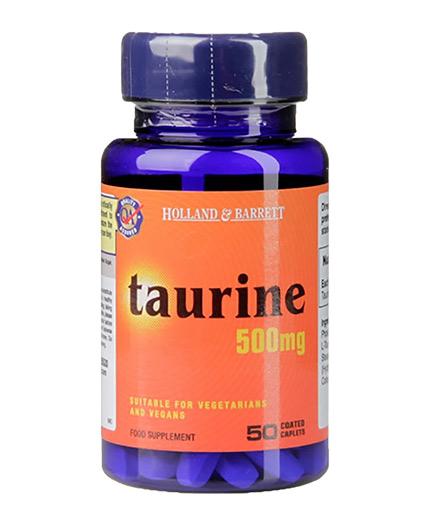 HOLLAND AND BARRETT Taurine 500 mg / 50 Caps