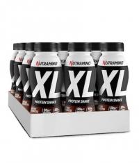 NUTRAMINO XL Protein Shake Box / 12 x 500 ml