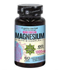CVETITA HERBAL Magnesium with B-Complex / 60 Tabs