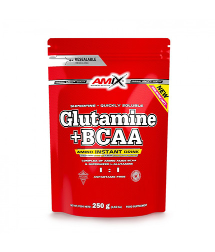 AMIX L-Glutamine + BCAA  250g  PACK