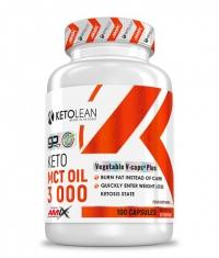 AMIX KetoLean Keto go MCT Oil 3000 mg / 100 Vcaps