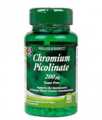 HOLLAND AND BARRETT Chromium Picolinate 200 mcg / 100 Tabs