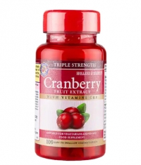 HOLLAND AND BARRETT Triple Strength Cranberry Concentrate / 100 Tabs