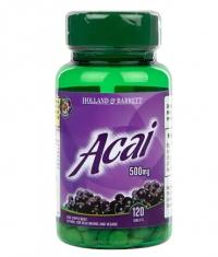 HOLLAND AND BARRETT Acai Berry 500 mg / 120 Tabs