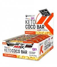 AMIX KetoLean® Keto goBHB® Coco Bar 20 x 40g