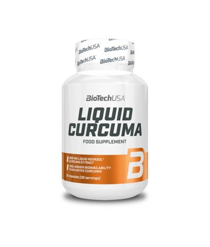 BIOTECH USA Liquid Curcuma / 30 Caps