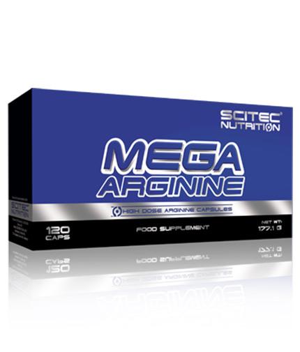 SCITEC Mega Arginine / 120 Caps