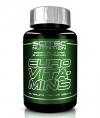 SCITEC Euro Vita-mins / 120 Tabs